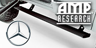 AMP Research<br> PowerStep Running Boards<br /> Mercedes-Benz
