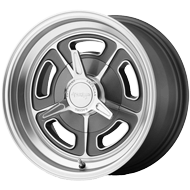 American Racing VN Wheels VN502 Mag Gray Machined