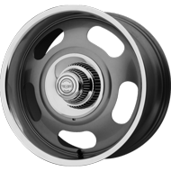 American Racing VN Wheels VN506 Rally One-Piece Mag Gray Center w/ Polished Lip