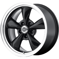 American Racing AR105 Torq Thrust M Black Wheels