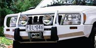 ARB Jeep Deluxe Bumpers</br> for 1999-2004 Jeep Grand Cherokee WJ