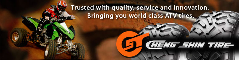Trusted with quality, service and innovation. Bringing you world class ATV tires.