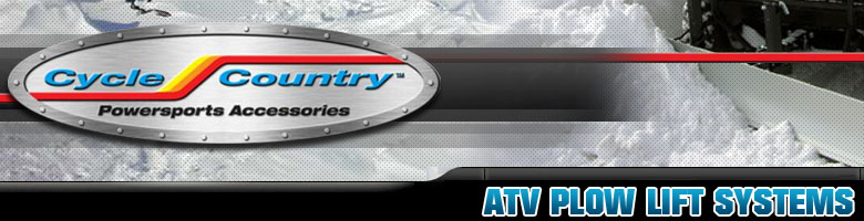 cycle country atv plow lift systems