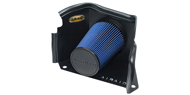 Airaid Cold Air Dam Intake System <br />with Blue SynthaMax Air Filter w/o Intake Tube for 03-09 H2