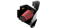 Airaid Cold Air Dam Intake System <br />with Red SynthaFlow Air Filter <br />for 03-07 H2