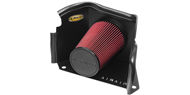 Airaid Cold Air Dam Intake System <br />with Red SynthaFlow Air Filter w/o Intake Tube for 03-09 H2