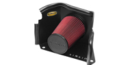 Airaid Cold Air Dam Intake System <br />with Red SynthaMax Air Filter w/o Intake Tube for 03-09 H2