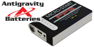 Antigravity Micro Start XP-3 <br>Micro Portable Jump Starter