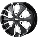 Baccarat Wheels <br/>Passion 1130B Black