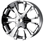 Baccarat Wheels <br/>Phang 2130C Chrome