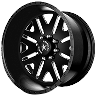 American Force Wheels<br /> BAUS SS8 Black