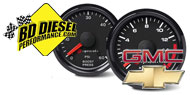 BD Diesel Chevy GMC <br />Performance Gauges