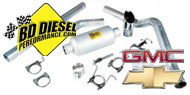 BD Diesel Chevy GMC <br />Exhaust Kits and Components