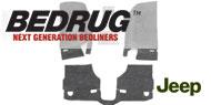 BedRug Front Floor Kit w/ Heat Shields - 3-Piece <br>07-10 Wrangler JK