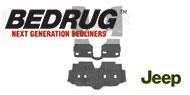 BedRug Front Floor Kit w/ Heat Shields - 4-Piece <br>07-16 Wrangler Unlimited JK