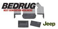BedRug Rear Cargo Kit w/ Tailgate and Tub Liner - 5-Piece <br>07-10 Wrangler JK