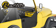 Bestop Jeep Soft Lower Half Doors for 1976-1986 CJ-7, CJ-8 Scrambler