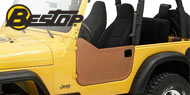 Bestop Jeep Soft Lower Half Doors for 1997-2006 Jeep Wrangler & Wrangler Unlimited