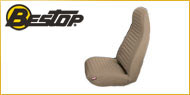 Bestop Jeep Front Seat Covers <br>1992-1994 High Back Buckets for Jeep Wrangler