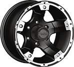 Black Rock Wheels<br /> Viper 900B Black Machined