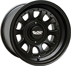 Black Rock Wheels<br /> Type D 909B Matte Black