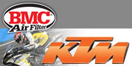 BMC Air Filters Street Bikes KTM