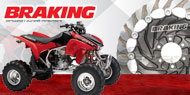 Braking ATV | UTV Brake Rotors