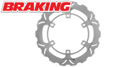 Braking Street Bike SK Series Directional Brake Rotor