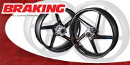 Braking Street Bike Wheels
