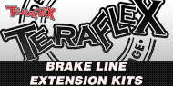 TeraFlex Jeep <br>Brake Line Extension Kits