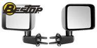 Bestop HighRock 4x4™ <br>Replacement Mirrors <br>2007-2017 Jeep Wrangler JK
