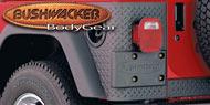 Bushwacker Trail Armor<br /> Rear Corners Factory Fender Flares TJ