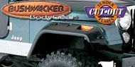 Bushwacker <br />Jeep Cut-Out ®<br /> Fender Flares