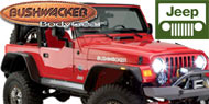 Bushwacker Jeep Fender Flares<sup>®</sup>