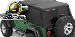 Bestop Twill Trektop NX Soft Tops <br>97-06 Jeep TJ