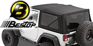 Bestop Twill Soft Top <br>Replace-A-Top <br>07-09 Jeep JK