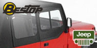 Bestop Jeep Soft Upper Doors <br>for 1988-1995 Jeep YJ Wrangler