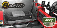 Bestop RoughRider™ Storage Solutions for Wrangler