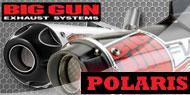Big Gun ATV Exhaust <br/> Polaris