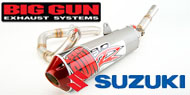 Big Gun Dirt Bike Full Exhausts System Suzuki