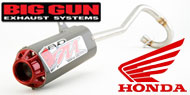 Big Gun Mini MX EVO R Series Exhausts System Honda