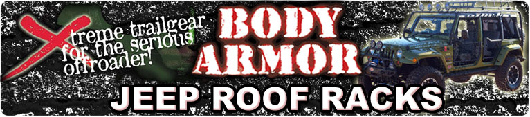 Body Armor Roof Racks For Jeep
