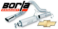 Borla Exhaust for Chevrolet