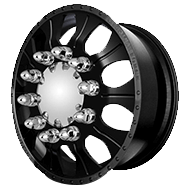 American Force COMBAT Black Wheels