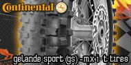 Continental Gelande Sport<br /> (GS) MX I/T Tires