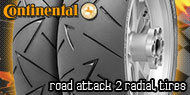 Continental Road Attack 2<br /> Radial Tires