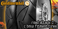 Continental Road Attack 2<br /> C BMW Fitment Tires
