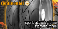 Continental Sport Attack<br /> C BMW Fitment Tires