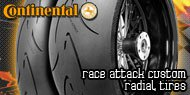 Continental Race Attack<br /> Custom Radial Tires