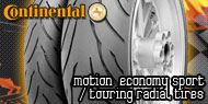 Continental Motion Economy<br /> Sport / Touring Radial Tires